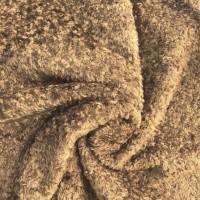 l025/1 - Завитая вискоза для тедди, 7 мм, коричневая