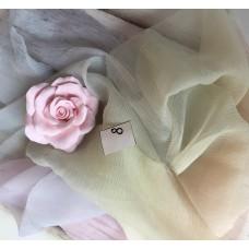 ML-8 Ткань ручного окраса - жатый шёлк