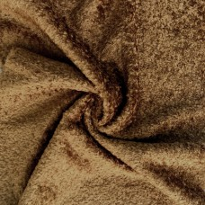 136-3062 - Завитая вискоза для тедди, 7 мм, коричневая