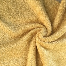 136-3021 - Завитая вискоза для тедди, 7 мм, бледно-золотая