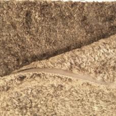 136-3047 - Завитая вискоза для тедди, 7 мм, коричневая