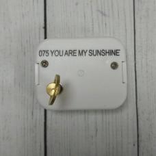 Музыкальный механизм - You are my sunshine
