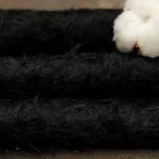 l021 - Мохер для тедди антик, черный 23мм