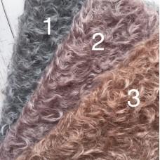ml162-3041 - Завитой мохер ручного окраса, 25 мм