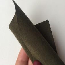 Z-10 - Двусторонняя замша - темно-зеленый