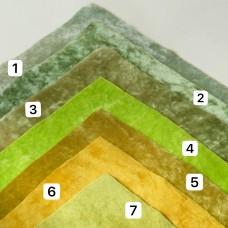 VR-07 - Винтажная вискоза для миниатюры - полевые травы