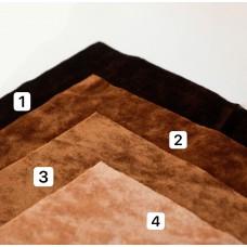 VR-12 - Винтажная вискоза для миниатюры - коричневая