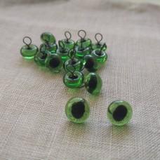 34-108 - Глазки кошачьи зеленые - 8 мм
