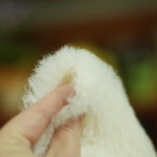 130-3011 - Альпака для тедди Schulte, 22 мм, белая