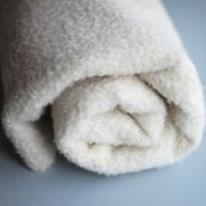 131-3011 - Завитая альпака для тедди Schulte, 9 мм, белая