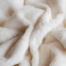 211-3011 - Альпака для мишек тедди, 14 мм, белая