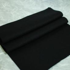 143-3019 - Фетр шерстяной, черный