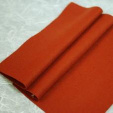 143-3034 - Фетр шерстяной, красно-коричневый