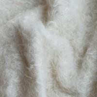 l009/1 - Мохер для тедди антик, белый