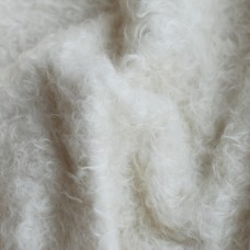 95-3011 - Мохер для тедди антик, белый