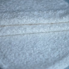 136-3011 - Завитая вискоза для тедди, 7 мм, белая