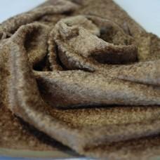 136-3047 - Завитая вискоза для тедди, 7 мм, золотисто-коричневая