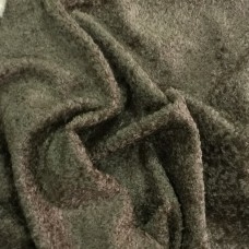136-3048 - Завитая вискоза для тедди, 7 мм, коричнево-оливковый