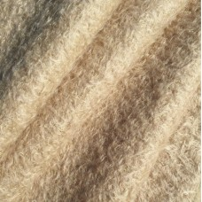 109-3050 - Завитой мохер с шелковым ворсом, 24 мм, бежевый