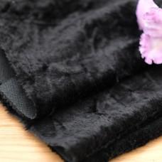 61-3019 - Мохер слегка завитой черный , 9 мм