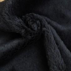 132-3019 - Альпака для тедди Helmbold черный, 25 мм