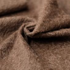 144-3111 - Прореженный мохер для тедди антик, коричневый 16 мм