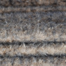 160-3085 - Завитой мохер, 25 мм - оливковый с темными кончиками
