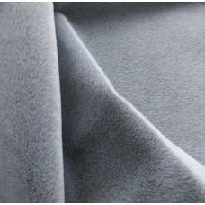 SM-16 - Мех смоки для мини-тедди - светло-серый