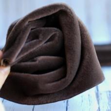 SM-07 - Мех смоки для мини-тедди - шоколадный