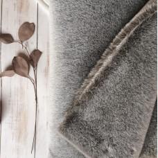 123-3012 - Немецкий плюш для тедди, 13 мм, серый