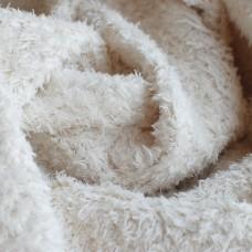 201-3011 - Завитой плюш для детской игрушки, белый