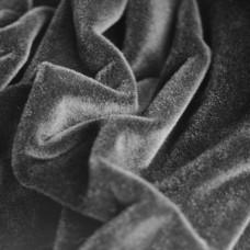 122-3019 - Немецкий плюш для тедди, 6 мм, черный