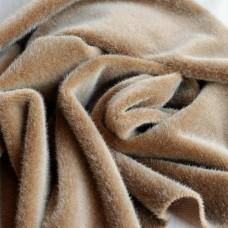 122-3004 - Немецкий плюш для тедди, 6 мм, кофейно-коричневый
