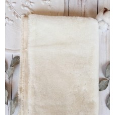9-1634 - Немецкий плюш для тедди, 9 мм, белый
