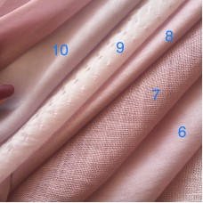ML-1 Ткань ручного окраса - пыльная роза